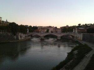 El Tiber o Tevere.