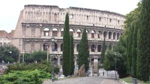 Coliseo desde el Monte Oppio