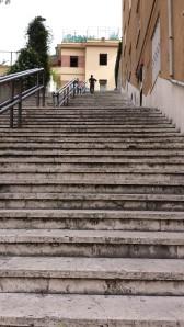 Escaleras en Parioli.