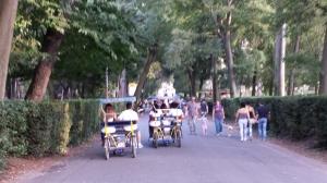 Circulando por Villa Borghese