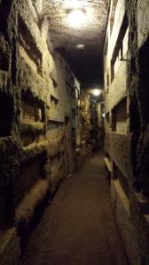 Catacumbas de San Calixto.