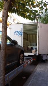 Camión de la mudanza