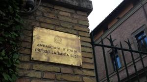 Embajada de Italia para la Santa Sede.