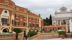 La residencia del Embajador de España en Italia.