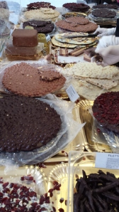 Chocolates en Perugia.