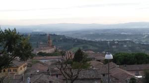 Vistas desde Perugia.
