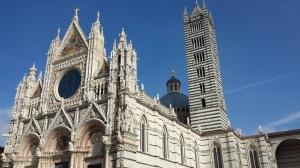 Exterior de la Catedral de Siena.