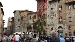 Calle principal de San Gimignano.