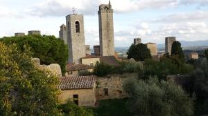 Torres en San Gimignano.