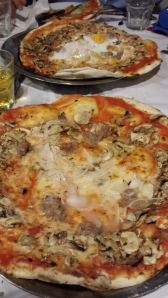 Pizzas de Il Baffetto.
