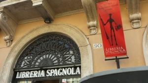 Instituto Cervantes y Librería española en Piazza Navona.