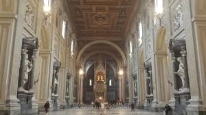 Interior de San Juan de Letrán.