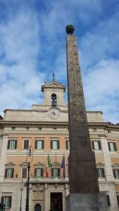 Obelisco Solare en Piazza Montecitorio.