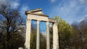 Monumento en Villa Borghese.