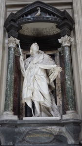 Santiago el Mayor, el más guapo de los apóstoles de San Giovanni in Laterano.