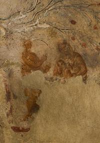 Imagen tomada de la página web de las catacumbas, donde se muestra la imagen más antigua de la Virgen María.