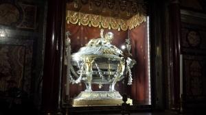Madera de la cuna de Jesús en Santa María la Mayor.