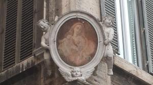 Esquina en Piazza Farnese.