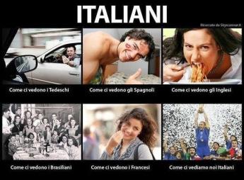 como ven a los italianos