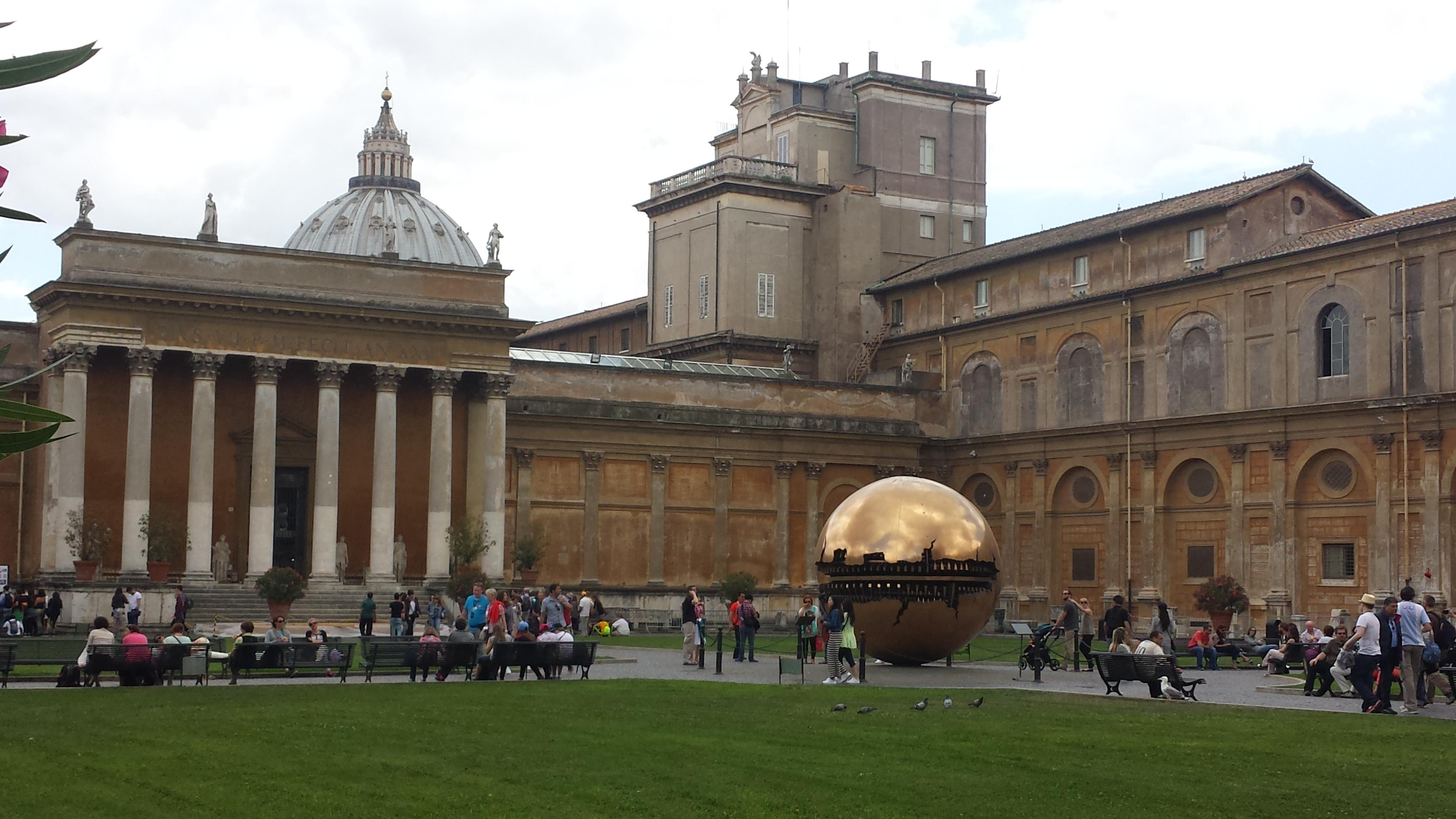 Museos vaticanos mi vida como una romana for Jardines vaticanos